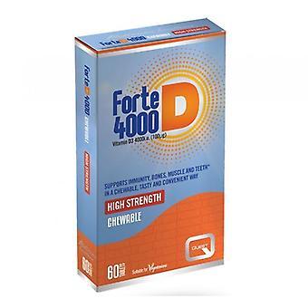 Quest Vitamins Forte D 4000iu Tabs 60 (601033)