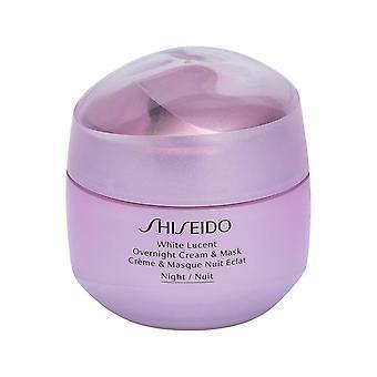 Shiseido White Lucent Overnight Cream En Masker 75ml