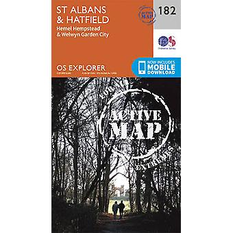 St. Albans and Hatfield (September 2015 ed) by Ordnance Survey - 9780