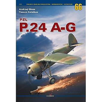 Pzl P.24 A-G by Andrzej Glass - 9788366148055 Book