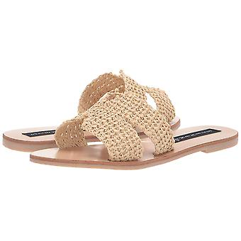 Steven by Steve Madden Womens Greece Peep Toe Casual Slide Sandals