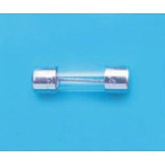 Belfuse BEL FUSE Sicherung 5ST Serie 1,6 A Micro fuse (Ø x L) 5 mm x 20 mm Time delay -T- Content 100 pc(s) Bulk