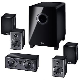 B-Ware, Heco Music Colors Cinema 5.1 A, Heimkino-System mit Aktiv- Subwoofer