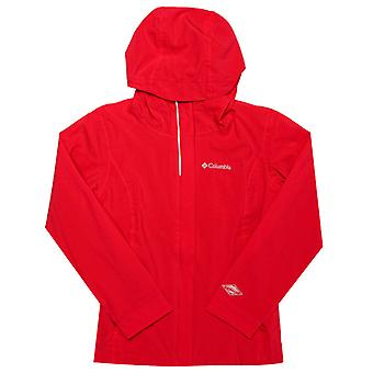 Boy's Columbia Junior Whibdey Island Jacket in Red