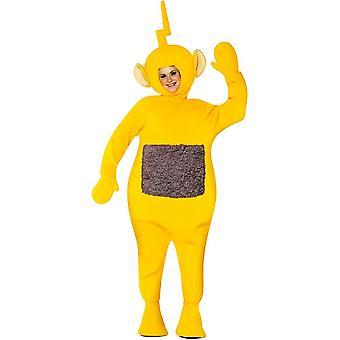 Teletubbies Lala traje para adultos