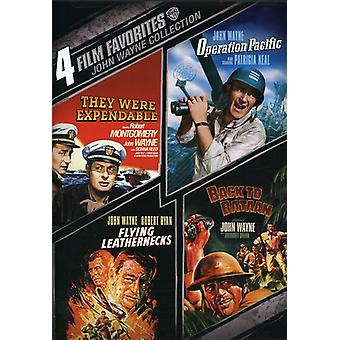 John Wayne - 4 Film Favorites: War [DVD] USA import