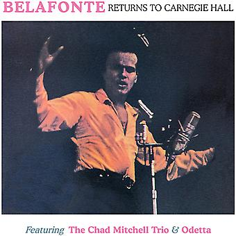 Belafonte / Mitchell, Chad - Returns to the Carnegie Hall 2nd May 1960 [CD] USA import