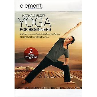 Element: Hatha & Flow Yoga for Beginners [DVD] USA import