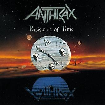 Anthrax - Persistence of Time [CD] USA import