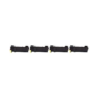 RudyTwos 4x Replacement for Dell 593-10314 Toner Unit Yellow Compatible with 1320 C, 2130 CN, 2135 CN