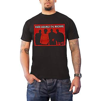 Rage Against the Machine T Shirt Faceless Band Shot Logo Official Mens New Black