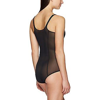 Arabella Women's Mesh Body Shaper Shapewear, Black, XX-Large