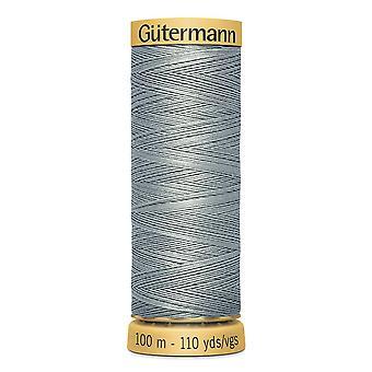 Gutermann 100% natural cotton thread 100m hand- en machinekleurcode - 6206