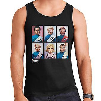 Thunderbirds Character Portraits Men's Vest