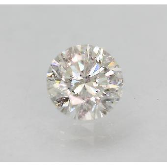 Certyfikowany 0,80 karatowy G VS2 Okrągły Brilliant Ulepszony Naturalny Diament 5,77 mm 3VG