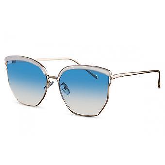 نظارات شمسية المرأة الفراشة Cat.2 فضة / زرقاء (CWI2127)