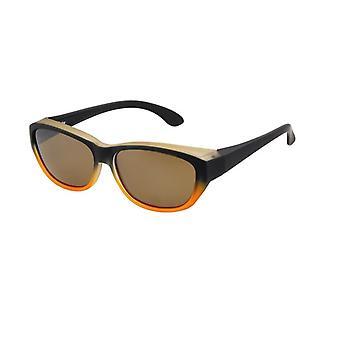 Sunglasses Women's Jumpsuit orange with brown lens Vz0027lw