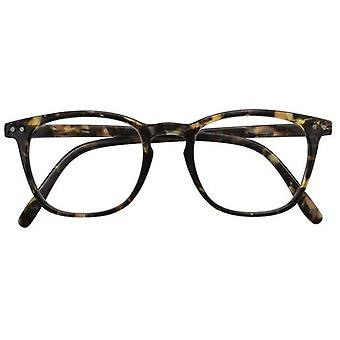 Óculos de leitura Alex preto/marrom claro força +3.00