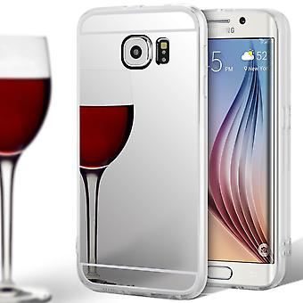 Mobile Shell TPU für Samsung Galaxy S6 Edge Mirror Mobile Protection Silikon Mobile Case