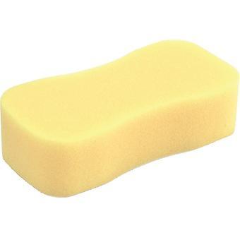 spons 22 x 11 x 6 cm viscose geel