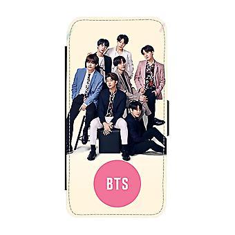 BTS Bangtan Boys iPhone 6/6S pénztárca tok