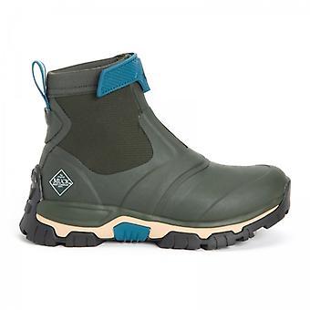 Muck Boots Apex Mid Zip Ladies Rubber Waterproof Boots Green