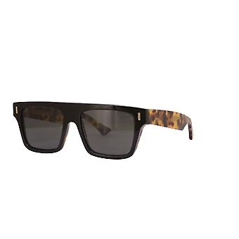 Cutler and Gross 1340 03 Black on Camouglage Sunglasses