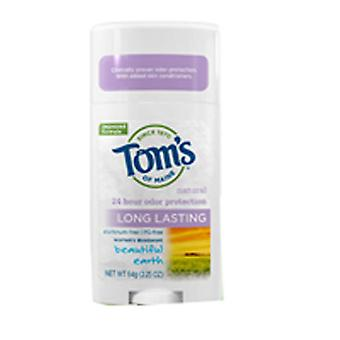 Tom's Of Maine Long Lasting Deodorant, Beautiful Earth 2.25 oz