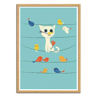 Art-Poster - Bird Watching - Jay Fleck