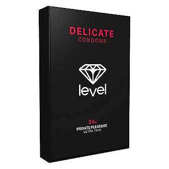 Level delicate condoms 24 pack tcp58024