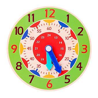 Children Montessori Wooden Clock