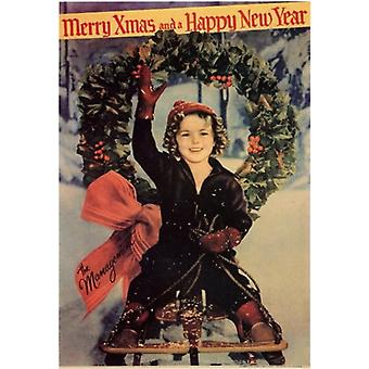 Merry X-Mas and a Happy New Year Movie Poster (11 x 17)