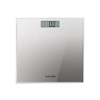Salter Glitter Glass Bathroom Scale 9037SVGL3R