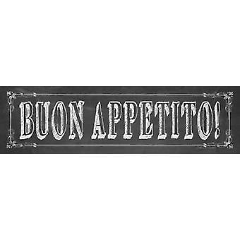 Buon Appetito Poster Print von Stephanie Marrott