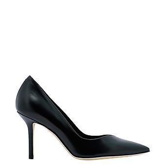 Guglielmo Rotta 4029vvitellonero Women's Black Leather Pumps