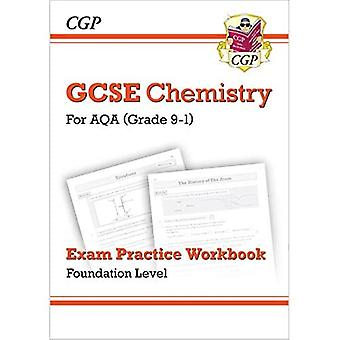 Novo grau 9-1 GCSE química: AQA exame prática Workbook-Fundação