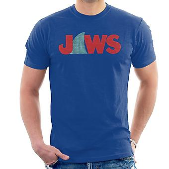 Jaws Shark Fin Logo Men's T-Shirt