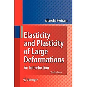 Elasticiteit en plasticiteit van grote vervormingen: een inleiding