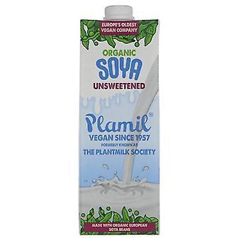 Plamil Organicanic Soya Milk 1Litre x8