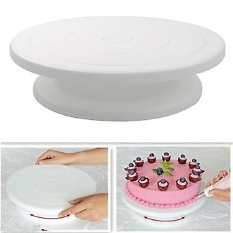 Cake Turntable Rotating Anti-skid Round Cake Stand Cake Decorating Tools Cake Rotary Table Kitchen DIY Pan Baking Tools