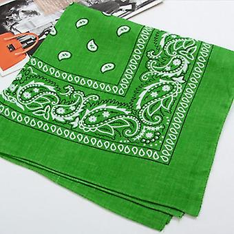 Fashion Polyester Bandana Square Scarf/men Headband  Headwear Double Hair