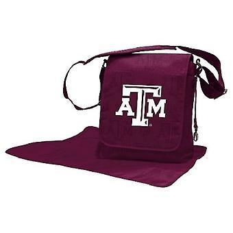 Texas A&M Aggies NCAA LilFan Diaper Messenger Bag