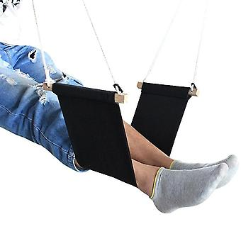 Promotion bærbar skrivebord hengende hengekøye for å slappe av dobbelt ben fot hengekøyer