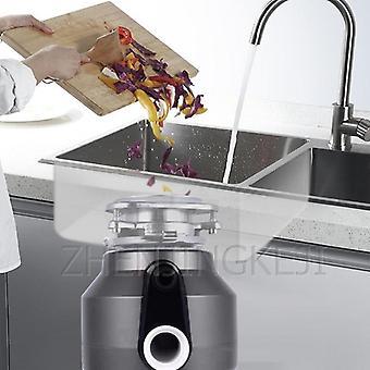 Garbage Processor, Kitchen Waste Rubbish Grinder Home Use Food Shredder
