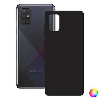 Coque mobile Galaxy A71 KSIX Silk