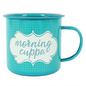 Something Different Morning Cuppa Enamel Mug
