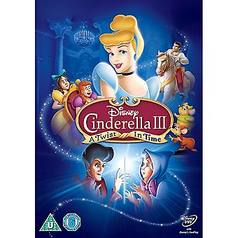 Cinderella 3 - A Twist In Time DVD