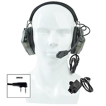 Earmor Tactical Headset & Ptt Set, Upgrade Headphones, Fit Military Aviation