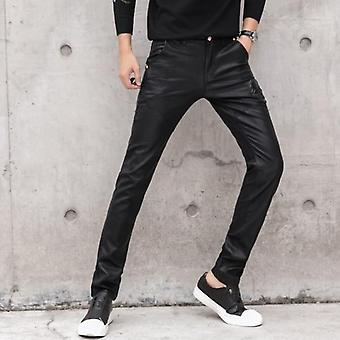 Male Stretch Slim Fit Casual Pants