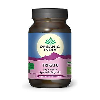 Organic Trikatu 90 vegetable capsules